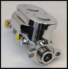 GM STYLE CHROME/ALUMINUM MASTER CYLINDER # S-3515
