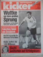 KICKER 39 - 13.5. 1988 W.Wuttke EC-II Finale KV Mechelen-Ajax Amsterdam 1:0