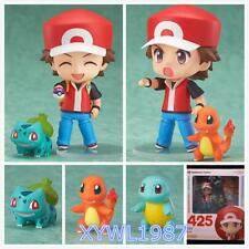 New Nendoroid 425 POKEMON CENTER LTD Nendoroid Figure Box Red with Starter Gift