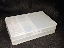 Double Sided Craft Storage Box (Beads, Jewellery, Scrapbooking, Card making)