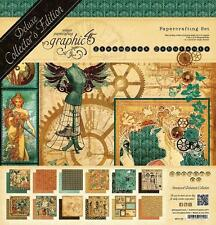 Graphic 45 STEAMPUNK Debutante Deluxe Collector's Edition 12X12 Kit Mixed Media