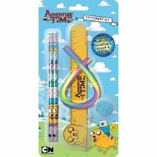 ADVENTURE TIME STATIONARY SET GIFT FOR BOYS GIRLS PARTY BAG FILLER STATIONERY