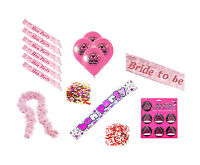 Hen Party Supplies (Confetti, Sashes, Badges, Balloons, Banner)