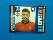 Panini Champions League 2013 - 2014 N. 14 Carrick Manchester United