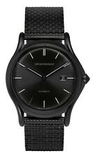 EMPORIO ARMANI SWISS MADE ARS3014 Automatic Black Classic Men Watch