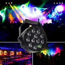 12 LED RGBW LED Light DMX Color Mixing 8CH Can Background DJ Party Lamp EU Plug