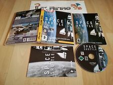 PC SPACE SHUTTLE JUST FLIGHT COMPLETO PAL ESPAÑA