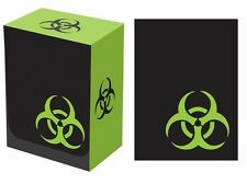 100 LEGION SUPPLIES BIOHAZARD DECK PROTECTORS CARD SLEEVES AND DECK BOX COMBO