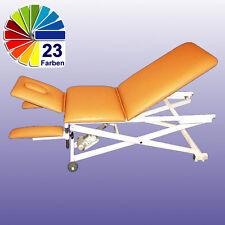 Behandlungsliege Elektrisch 3-teilig Armauflagen Therapieliege Massageliege NEU