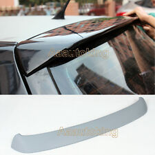 R Style Unpainted PU Rear Roof Trunk Spoiler Wing Fit for Volkswagen Golf IV MK4