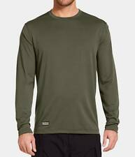 Under Armour 1248196 Men's Tactical UA Tech Long Sleeve T-Shirt OD Black Brown