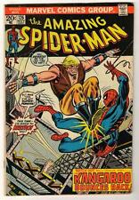 MARVEL Comics VG SPIDER-MAN Bronze #126  1973 AMAZING spiderman  Kaz za