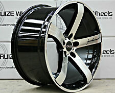 "20"" CRUIZE BLADE ALLOY WHEELS FIT BMW 5 SERIES E39 E60 E61 F10 F11 GT"