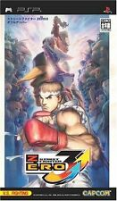 Used PSP Street Fighter Zero 3 Double Upper  Japan Import ((Free shipping))
