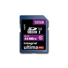 Integral INSDH32G10-45 32GB Ultimapro 45MB/S Class 10 SDHC Memory Card Free Case