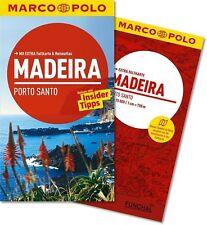 !! Madeira 2014  UNGELESEN Reiseführer mit Karte Marco Polo Porto santo