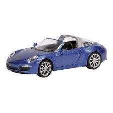 Schuco 452616500 Porsche 911 Targa 4S metallic blau Maßstab 1:87 NEU! °