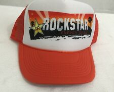 Rock Star Energy Drink Snapback Trucker Hat Cap
