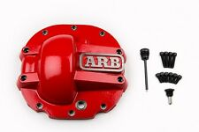 ARB Rear Ford 8.8 Red Differential Cover Thick Cast Nodular Iron Magnetic Drain