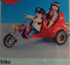 """Playmobil 7528 Trike / Chopper / Easy Rider /  with 2 Figures  """"NEW"""""""