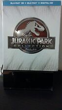 Jurassic Park Collection (Blu-ray/DVD, 2015, 3D Incl UV) Jurassic World included