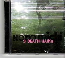 (FH487) Kono Michi, 9 Death Haiku - 2009 CD