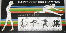 ANTIGUA BARBUDA 2012 Klb 5014-17 Olympics London Olympia Martial Arts Sport MNH