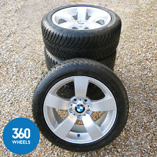 "Genuine BMW 17 "" 122 STAR SPOKE RUOTE IN LEGA DA NEVE Pneumatici 5 Serie E60 E61"