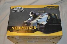 1:35 Scale Testors 80th Anniversary Sturmtiger with display case factory sealed