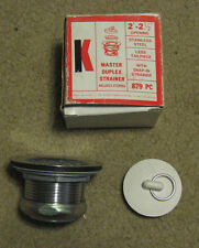 Keeny master duplex strainer 879 PC stainless stopper
