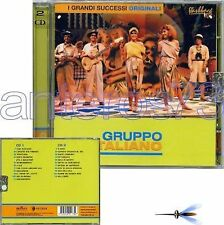 "GRUPPO ITALIANO ""I SUCCESSI ORIGINALI"" 2 CD ITALO DISCO"