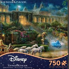CEACO THOMAS KINKADE DISNEY CINDERELLA CLOCK STRIKES MIDNIGHT JIGSAW PUZZLE