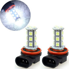 2 UNIDADES H11 H8 18 LEDS 5050 SMD Coche Day in the dirt Faros antiniebla