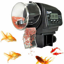 Pond Aquarium Fish Tank Feeding Timer LCD Digital Auto Automatic Food Feeder