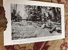 m11f ephemera ww2 picture 1940s u s artillery in wingen