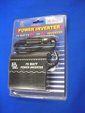12v DC to AC INVERTER 75WATTS in Car For Camcorder,Phone,Notebook,Video Game,DVD