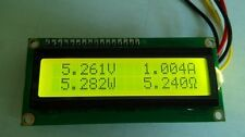 1pcs Coulomb Gauge LCD Voltage Current  Meter Test Battery Capacity