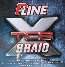 P-Line XTCB Teflon Coated Braid Fishing Line Green 300 Yards 65#