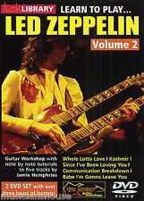 LICK LIBRARY Learn to Play LED ZEPPELIN Whole Lotta Love Tutor GUITAR DVD Vol 2