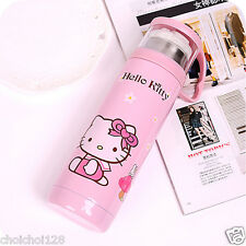Hello Kitty Stainless Steel Vacuum Flask Cold Bottle with CUP 500ml KK595