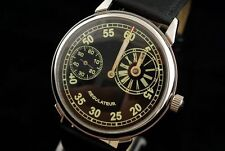 Regulateur vintage military style WAR2 WW2 Pilot's watch