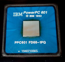 IBM PowerPC 601 CPU chip - used in original Power Macintosh computers, Apple