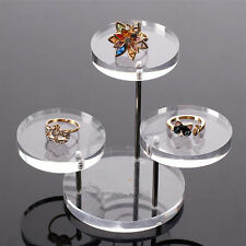 Jewelry Necklace Ring Earring Table Stand Display Organizer Holder Show Rack New