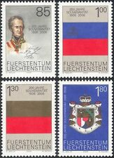 Liechtenstein 2006 Prince Johann I/Coat-of-Arms/Heraldry/People 4v set (n43596)