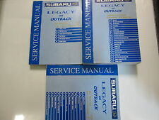 2001 Subaru Legacy Outback Restraints Body Cab HVAC Service Repair Shop Manual