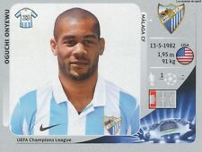 N°215 OGUCHI ONYEWU # USA MALAGA.CF CHAMPIONS LEAGUE 2013 STICKER PANINI