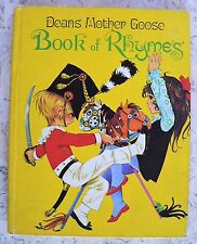 Vintage Deans Mother Goose Book of Rhymes 1977 HC Grahame Johnstone COLLECTIBLE!