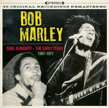 2 CD BOX BOB MARLEY SOUL ALMIGHTY THE EARLY YEARS 1967 - 1971 SUN IS SHINING ETC