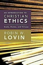 AN INTRODUCTION TO CHRISTIAN ETHICS - Used PAPERBACK BOOK