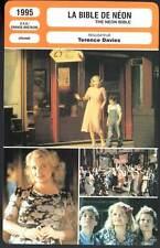 LA BIBLE DE NEON - Tierney,Bell,Rowlands  (Fiche Cinéma) 1995 - The Neon Bible